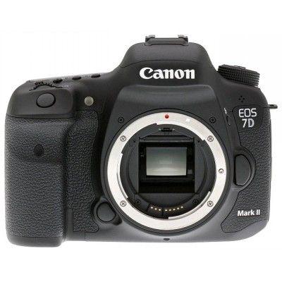 Зеркальный фотоаппарат Canon EOS 7D Mark II body, черный 9128B004