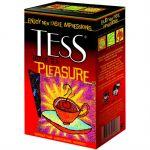 Чай TESS Плэжа 200г.чай лист.черн.с доб. 1005-12