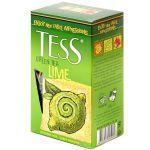Чай TESS Лайм 200г.чай лист.зел.с доб. 1007-12