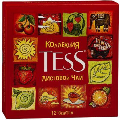 Чай TESS Набор чая и чай нап.в подар.уп.12 видов лист.450г. 0868-11