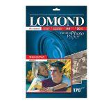 Расходный материал Lomond Бумага Односторонняя Высококачественная Полуглянцевая, 170г/м2, A4 (21X29,7)/20л 1101305