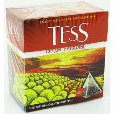 Чай TESS Цейлон Парадайз (2гх100п) чай пирам.черн.ХРК 1036-05