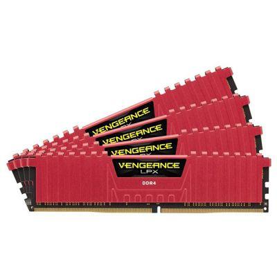 Оперативная память Corsair DDR4 4x4Gb 2666MHz unbuffered Ret CMK16GX4M4A2666C16R