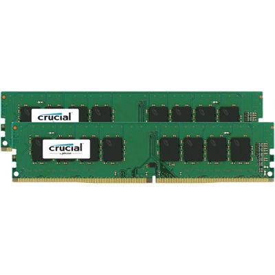Оперативная память Crucial DDR4 2x4Gb 2133MHz RTL Unbuff 1.2V SR CL16 CT2K4G4DFS8213