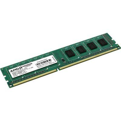 Оперативная память AMD DDR3 2Gb 1600MHz OEM green R532G1601U1S-UGO