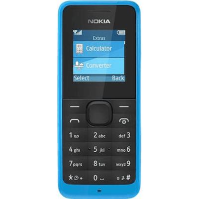 Телефон Nokia 105 SS Cyan A00025706