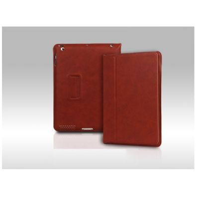 Чехол Yoobao Lively Leather Case для IPad 4/3/2 кирпичный