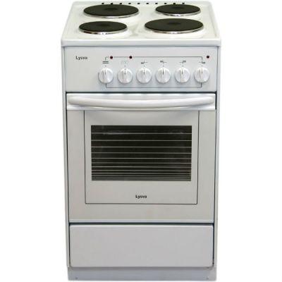 Электрическая плита Лысьва ЭП 401 СТ белая, без крышки