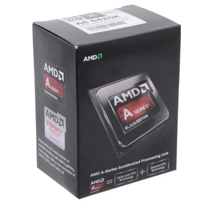 ��������� AMD A6 X2 6420K Socket-FM2 (4.0/5000/1Mb/Radeon HD 8470D) Box AD642KOKHLBOX