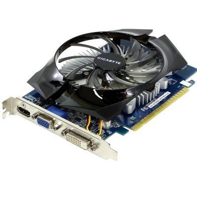 Видеокарта Gigabyte PCI-E GV-N730D5-2GI nVidia GeForce GT 730 2048Mb 64bit GDDR5 902/5000 DVIx1/HDMIx1/CRTx1/HDCP Ret GV-N730D5-2GI