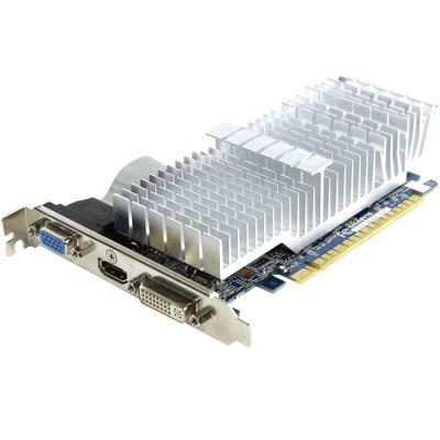 Видеокарта Gigabyte PCI-E GV-N610SL-1GI nVidia GeForce GT 610 1024Mb 64bit DDR3 810/1200 DVIx1/HDMIx1/CRTx1/HDCP Ret GV-N610SL-1GI