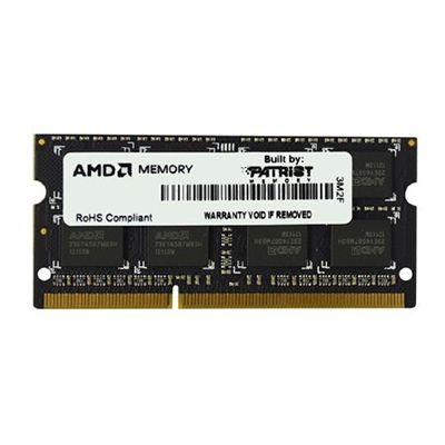 ����������� ������ AMD SO-DIMM DDR3 8Gb 1333MHz unbuffered OEM R338G1339S2S-UO