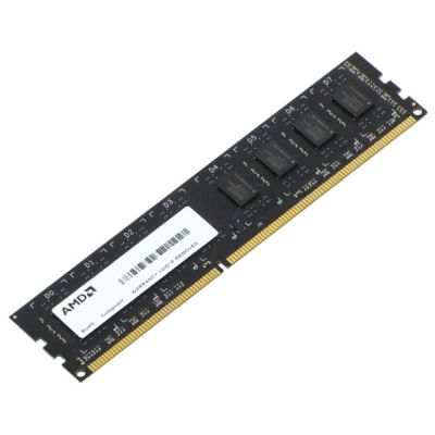 ����������� ������ AMD DDR3 8Gb 1333MHz OEM PC3-10600 CL9 DIMM 240-pin 1.5� R338G1339U2S-UO
