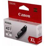 Картридж Canon CLI-451 GY XL Gray/Серый (6476B001)