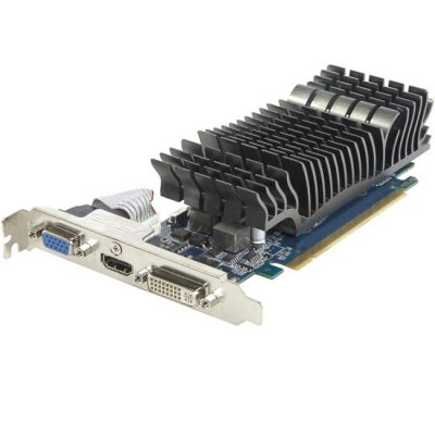 Видеокарта ASUS PCI-E GT610-SL-1GD3-L nVidia GeForce GT 610 1024Mb 64bit DDR3 810/1200 DVIx1/HDMIx1/CRTx1/HDCP Ret GT610-SL-1GD3-L