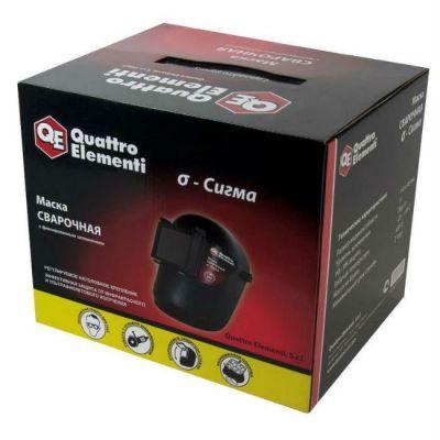 Quattro Elementi Маска сварочная SIGMA (затемнение DIN 11, откидывающийся светофильтр), цветная коробка 771-701