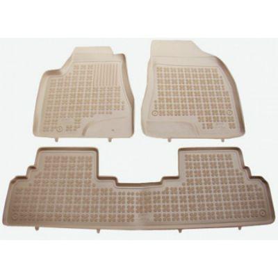 Rezaw-Plast Коврики салона Lexus NX 2014-> с бортиками полиуретановые (3 части) БЕЖЕВЫЕ ST 49-00312