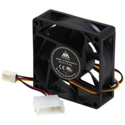 Вентилятор GlacialTech для корпуса IceWind 7025 70x70x25 3pin+4pin (molex) 31dB 80g BULK CF-7025GSD0AB0001