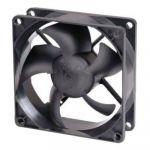 Вентилятор GlacialTech для корпуса GT-8025 Sleeve 80x80x25 3pin+4pin (molex) 19dB 90g BULK CF-8025SED0AB1031