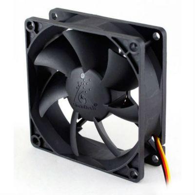Вентилятор GlacialTech для корпуса GT8025-LWD0B Sleeve 80x80x25 4pin 17-29dB 80g BULK CF-8025WED0AB1031