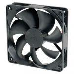 Вентилятор GlacialTech для корпуса GT-12025 Ballbearing 120x120x25 3 pin + 4 pin (molex) 21dB 120g BULK CF-1225SBD0AB0031