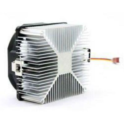 Вентилятор GlacialTech Igloo A200 PWM Soc-AMD/ 4pin 15-34dB Al 72W 165g скоба BULK CD-A200W000DBR001