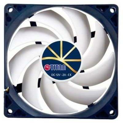 Вентилятор Titan для корпуса 90x90x25 4pin 5-23dB 120g винты extreme-silent RTL TFD-9225H12ZP/KE(RB)