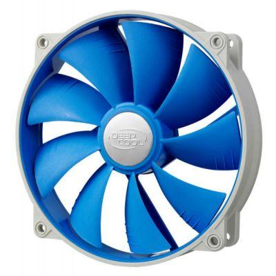 Вентилятор Deepcool корпусной 140x140x25 4pin 18-27dB 700-1200rpm 167g anti-vibration UF-FAN140