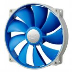 Вентилятор Deepcool корпусной 140x140x25 4pin 18-27dB 700-1200rpm 167g anti-vibration UF-FAN140