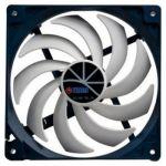 Вентилятор Titan для корпуса 140x140x25 4pin 5-29dB 250g винты extreme-silent RTL TFD-14025H12ZP/KE(RB)