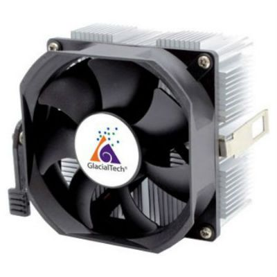 Кулер для процессора GlacialTech Igloo A360CU Light Soc-AMD/ 3pin 25dB Al+Cu 100W 350g скоба BULK CD-A360L001DBR001