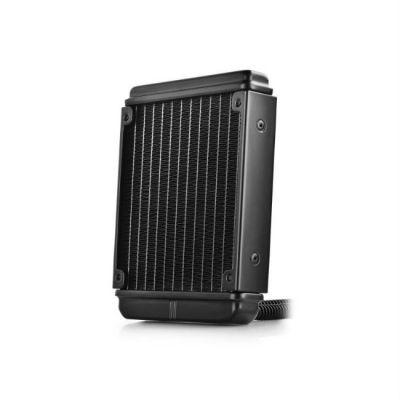 Deepcool водяная система охлаждения для процессора Soc-FM2+/AM3+/1150/1155/2011/ 4pin 18-32dB Al+Cu 756gr Ret MAELSTROM120K