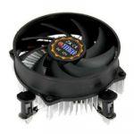 Кулер для процессора Titan Soc-1150/1155/1156 3pin 20dB Al 75W 301g клипсы низкопрофильный DC-156G925X/R