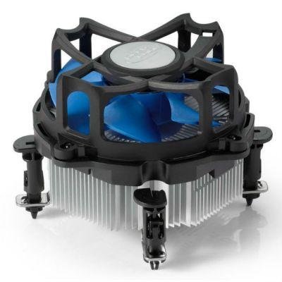 Кулер для процессора Deepcool Soc-1150/1155/1156/775 3pin 25dB Al 95W 344g клипсы ALTA7