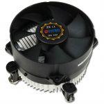 Кулер для процессора Titan Soc-1150/1155/1156 4pin 12-36dB Al 95W 267g клипсы низкопрофильный DC-156V925X/RPW