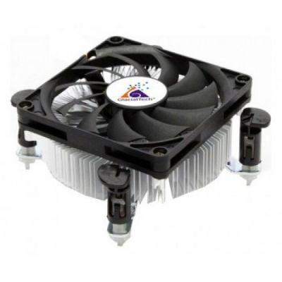 Кулер для процессора GlacialTech Igloo PWM Soc-1150/1155/1156/ 4pin 18-35dB Al 65W 220g клипсы low-profile BULK CD-I630WSP0DBR001