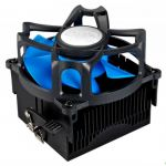 Кулер для процессора Deepcool Soc-FM2/FM1/AM3+/AM3/AM2+/AM2 3pin 25dB Al+Cu 95W 348g скоба BETA40
