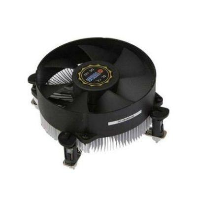 Кулер для процессора Titan Soc-1155 4pin 12-36dB Al+Cu 105W 285g клипсы низкопрофильный DC-156V925X/RPW/CU25