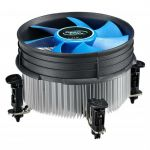Кулер для процессора Deepcool PWM Soc-1150/1155/1156 4pin 18-26dB Al+Cu 95W 401g клипсы THETA16.PWM