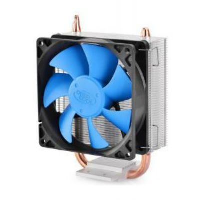 Кулер для процессора Deepcool Soc-AMD/1150/1155/1156/ 3pin 32dB Al+Cu 95W 390g клипсы RTL ICEBLADE100