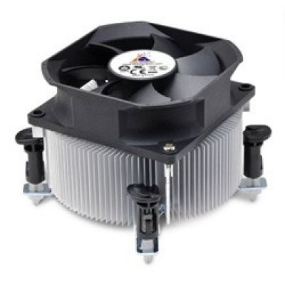 Кулер для процессора GlacialTech Igloo Soc-1150/1155/1156/ 3pin 32dB Al 89W 380g клипсы BULK AD-1100AEPODB0001