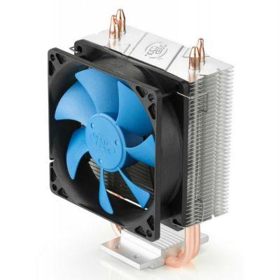 Кулер для процессора Deepcool Soc-1150 /1155 /AM2+/AM3+/FM1/FM2 4pin 18-35dB Al+Cu 95W 339g клипсы GAMMAXX200