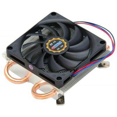 Кулер для процессора Titan низкопрофильный Soc-AM3+/FM1/FM2 3pin 31dB Al+Cu 95W 360g винты Z-AXIS TTC-NK52TZ