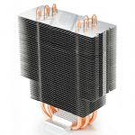 Кулер для процессора Deepcool Soc-2011/1155/AM3/FM1/FM2 4pin 21-32dB Al+Cu 130W 709g голубой LED GAMMAXX400
