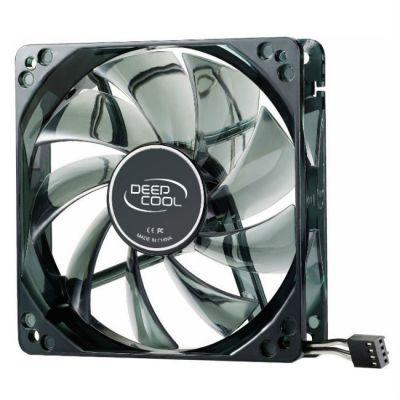 Кулер для процессора Deepcool Soc-2011/1155/AM3/FM1/FM2 4pin 21-32dB Al+Cu 150W 981g винты ICEBLADEPROV2.0