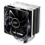 Кулер для процессора Deepcool Soc-2011/1155/AM3/FM1/FM2 4pin 21-32dB Al+Cu 150W 981g винты ICEBLADEPROV2.0