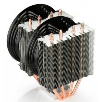 Кулер для процессора Deepcool Soc-2011/1150/1155/1156/AM3+/FM1/FM2 4pin 18-21dB Al+Cu 130W 712g винты FROSTWIN