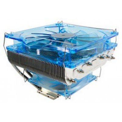 Кулер для процессора GlacialTech Siberia Soc-AMD/1150/1155/1156/ 4pin 19-32dB Al+Cu 130W 620g винты RTL AD-SIBEWES0IC0001