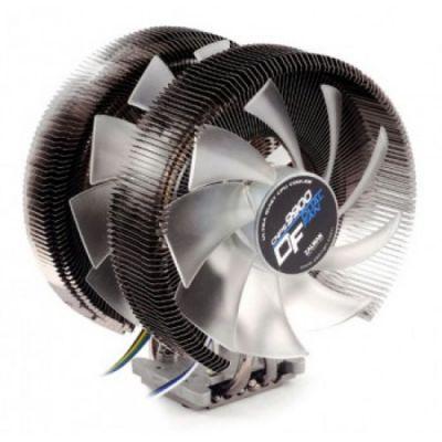 Кулер для процессора Zalman Soc-2011/1366/1156/775/FM1/AM3/AM2+/AM2 135мм+120mm Fan Black-Pearl CNPS9900DF
