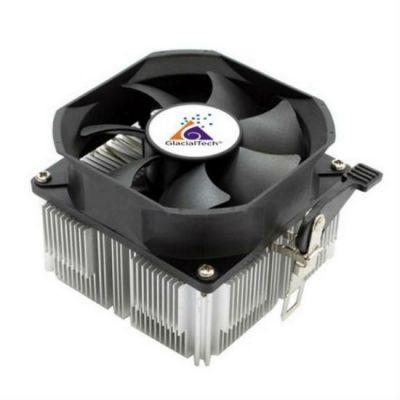 Кулер для процессора GlacialTech Igloo A360CU PWM Soc-AMD/ 4pin 15-38dB Al+Cu 125W 350g скоба BULK CD-A360W001DBR001